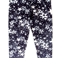 Star Leggings Capri Pants Short Leggings Women's Girls Yoga Leggings Fitness Leggings Workout Leggings Running  Leggings Fashion Clothes