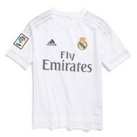Boy's adidas 'Real Madrid' CLIMACOOL Home Soccer Jersey,