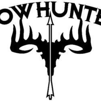 Bow Hunter Rack Arrow  Vinyl Car/Laptop/Window/Wall Decal