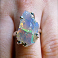 Rarest Beauty Fire Opal Ring
