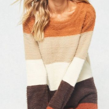 Caramel/Tan Soft Knit Sweater