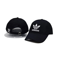 Adidas Logo Cotton Outdoor  Sports Baseball Golf Cap Hat