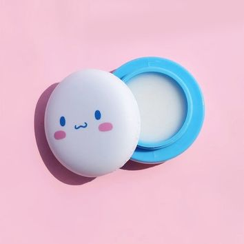 Cinnamoroll Macaron Lip Balm by the Crème Shop X Sanrio