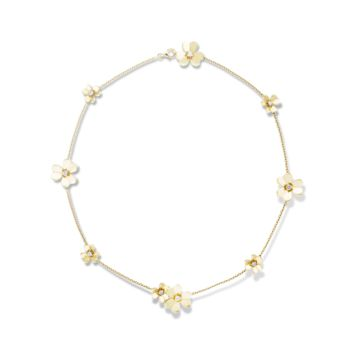 Frivole necklace, 9 flowers - VCARD31500- Van Cleef & Arpels