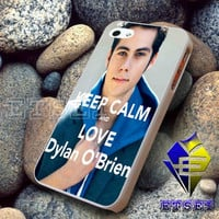 keep calm and love dylan obrien Design For iPhone Case Samsung Galaxy Case Ipad Case Ipod Case