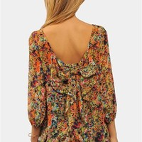 Waldorf Bow Blouse - Multi