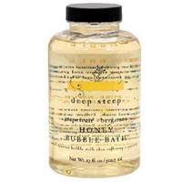 Deep Steep Bubble Bath Grapfruit Bergamot (1x17oz )
