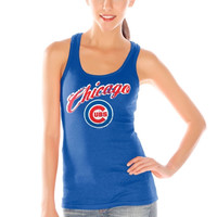 Chicago Cubs Women's Game Time Tank Top – Royal Blue