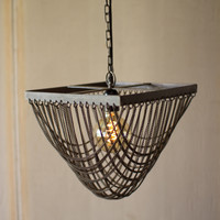 Chain Mail Swag Chandelier - Small