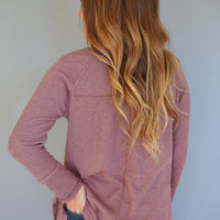 Lavender Fields Thermal Top