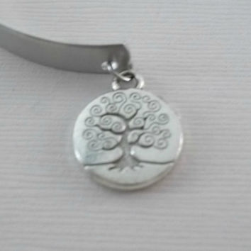 """Custom hand stamped aluminum bracelet cuff 1/4"""" by 6"""" Ohana with family tree charm Lilo and stitch mother daughter sister"""