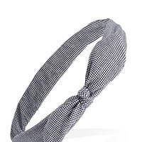 Micro Checkered Headwrap