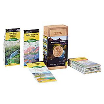 Greatest National Parks Trail Map Collection