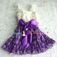 Baby Girl Lace Dress Photography Props Costume Cute Sleeveless