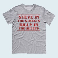Steve in the Streets, Billy in the Sheets Tee