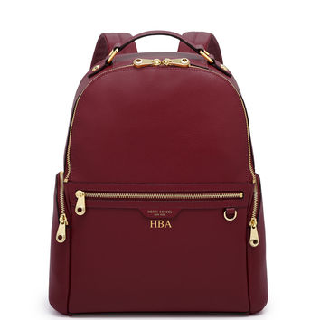 West 57th Leather Backpack | Henri Bendel