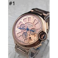 CARTIER calendar week multi-function waterproof automatic mechanical watch  #1