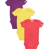 Sunshine, Magenta & Purple Bodysuit Set - Infant