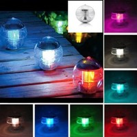 LE Magic Sun Solar Power LED Color Changing Globe Light Waterproof Floating Swimming Pool Party Decor:Amazon:Patio, Lawn & Garden