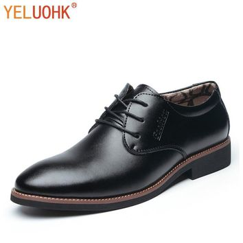 Winter Shoes Men Plush Oxfords For Men Warm Men Shoes Winter Office Formal Dress Work Shoes Black Brown