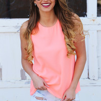 Coral Summer Tank