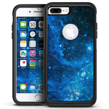 Blue Hue Nebula - iPhone 7 or 7 Plus Commuter Case Skin Kit