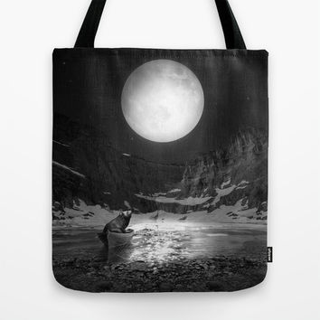 Somewhere You Are Looking At It Too Tote Bag by Soaring Anchor Designs | Society6