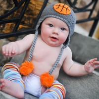 Lil' Dunker Basketball Baby Hat - Baby and Toddler Boys
