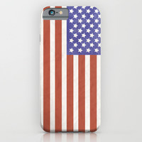 American Flag iPhone & iPod Case by Katie Zimpel