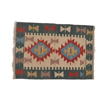 "Turkish Kilim Turkish 2' 9"" X 3' 10"" Handmade Rug"