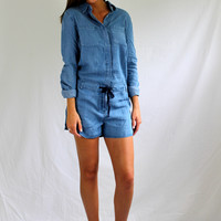 denim jane romper