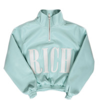 COTTON CANDY HIGHNECK JACKET WOMEN / LIGHT BLUE