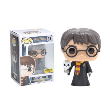 Funko Harry Potter Pop! Harry Potter With Hedwig Vinyl Figure Hot Topic Exclusive