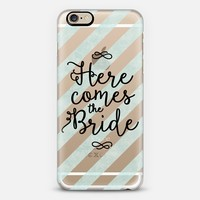 Here Comes the Bride 04 iPhone 6s case by Noonday Design | Casetify