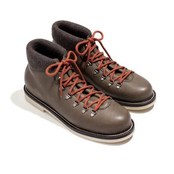 laax walk elk leather & beaver fur | Loro Piana