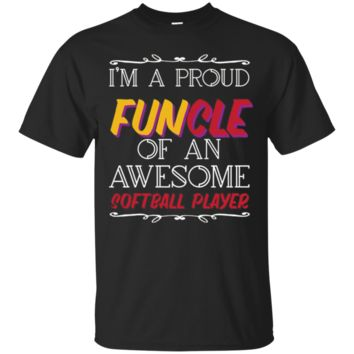 Awesome Softball Player T-Shirt Hoodie, Funny Uncle T-Shirt Hoodie