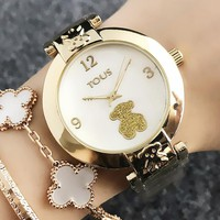 TOUS New fashion dial shining bear watch