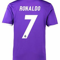 Real Madrid 2016/17 Away Men Soccer Jersey RONALDO #7