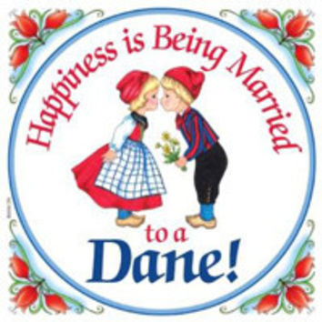 Kitchen Wall Plaques: Happy Danish
