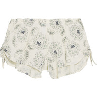 Eberjey - Pattern Play printed stretch-jersey pajama shorts