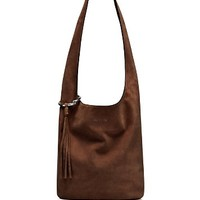 Elizabeth and JamesFinley Courier Suede Hobo