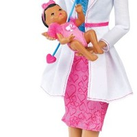 Barbie I Can Be Baby Doctor African-American Doll