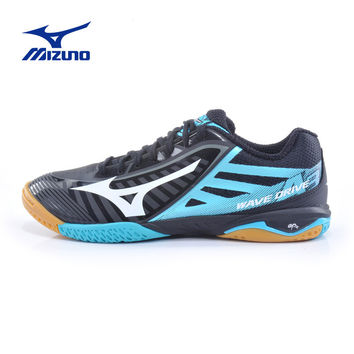 MIZUNO Sports Sneakers Men's WAVE DRIVE A 3 Table Tennis Ball Shoes Mesh Breathable Cushioning Sport Shoes 81GA150009 YXT003