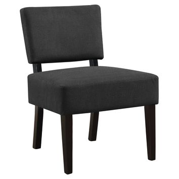 Accent Chair - Dark Grey Fabric