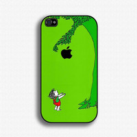 The Giving Tree - iPhone 4 Case, iPhone 4s Case, iPhone 4 Hard Case, iPhone Case