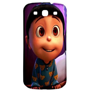 NEW Cute Agnes Despicable Me Samsung Galaxy S3 III Classic Back Case Cover