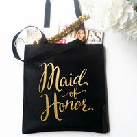 Tote Bag - Maid of Honor Bridal Party