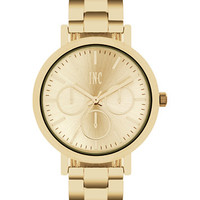 INC International Concepts Women's Gold-Tone Bracelet Watch 38mm IN015G, Created for Macy's | macys.com