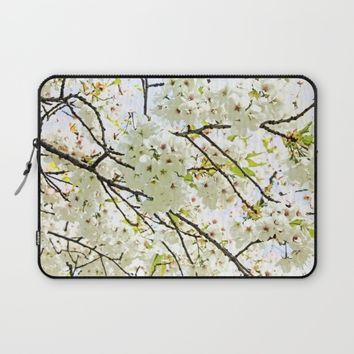 Blooming May Laptop Sleeve by Anipani