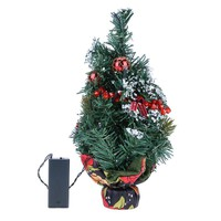 35CM with Light Decor Christmas Tree with Ornaments